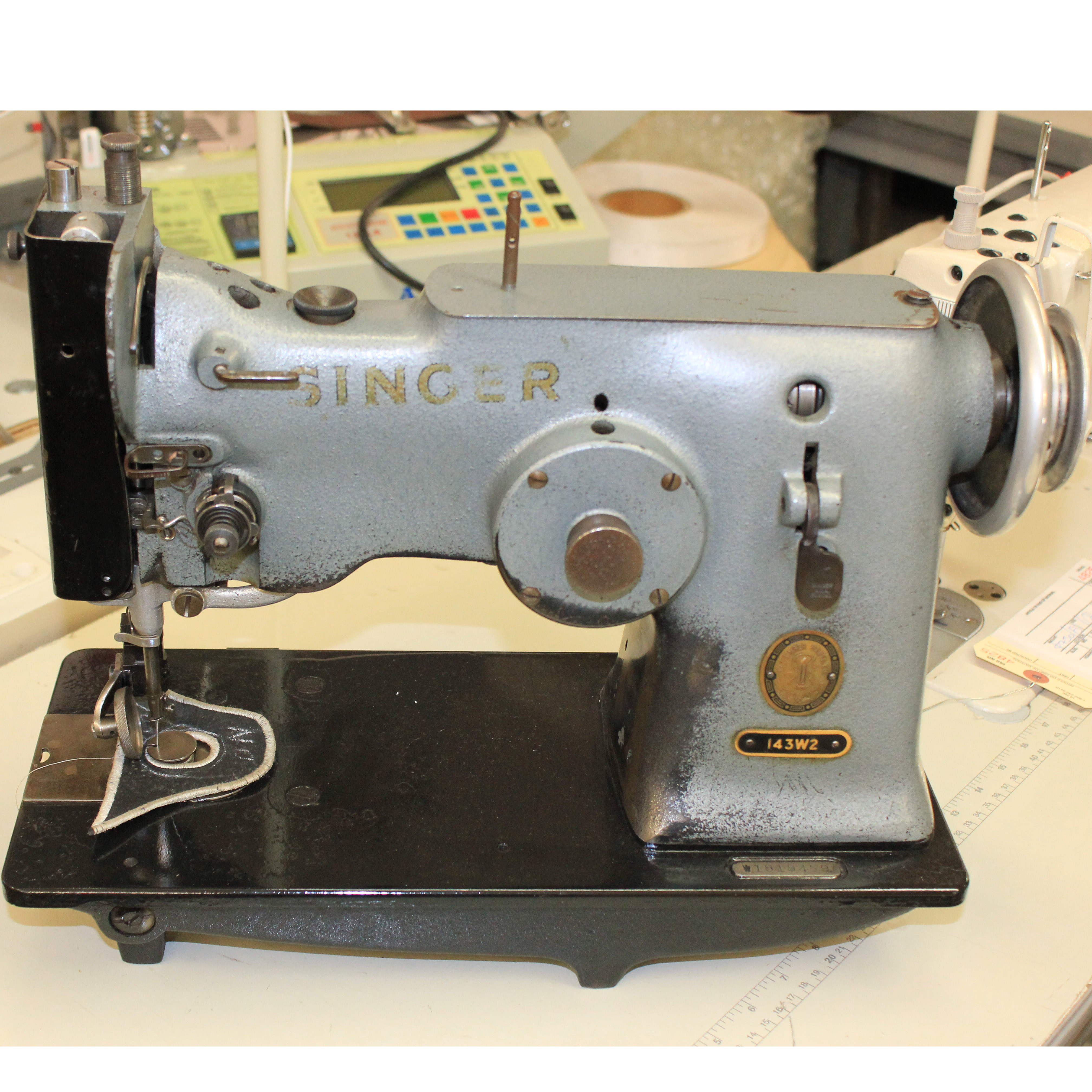 Singer 143w2 Industrial Sewing Machine Tag 4818
