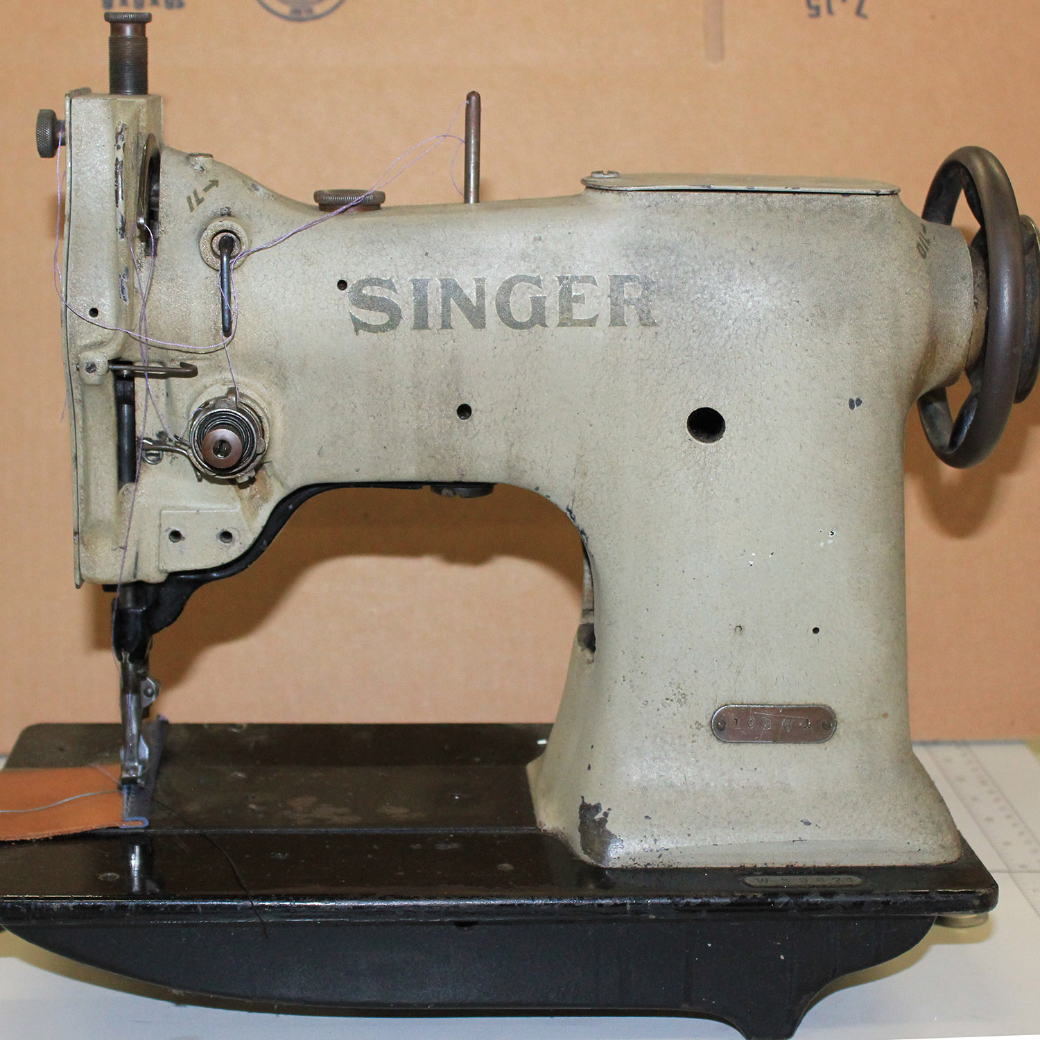 singer machine foot