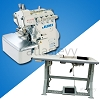 Juki MO 6743S High-speed, 6-thread overlock machine with Safety stitching - Complete