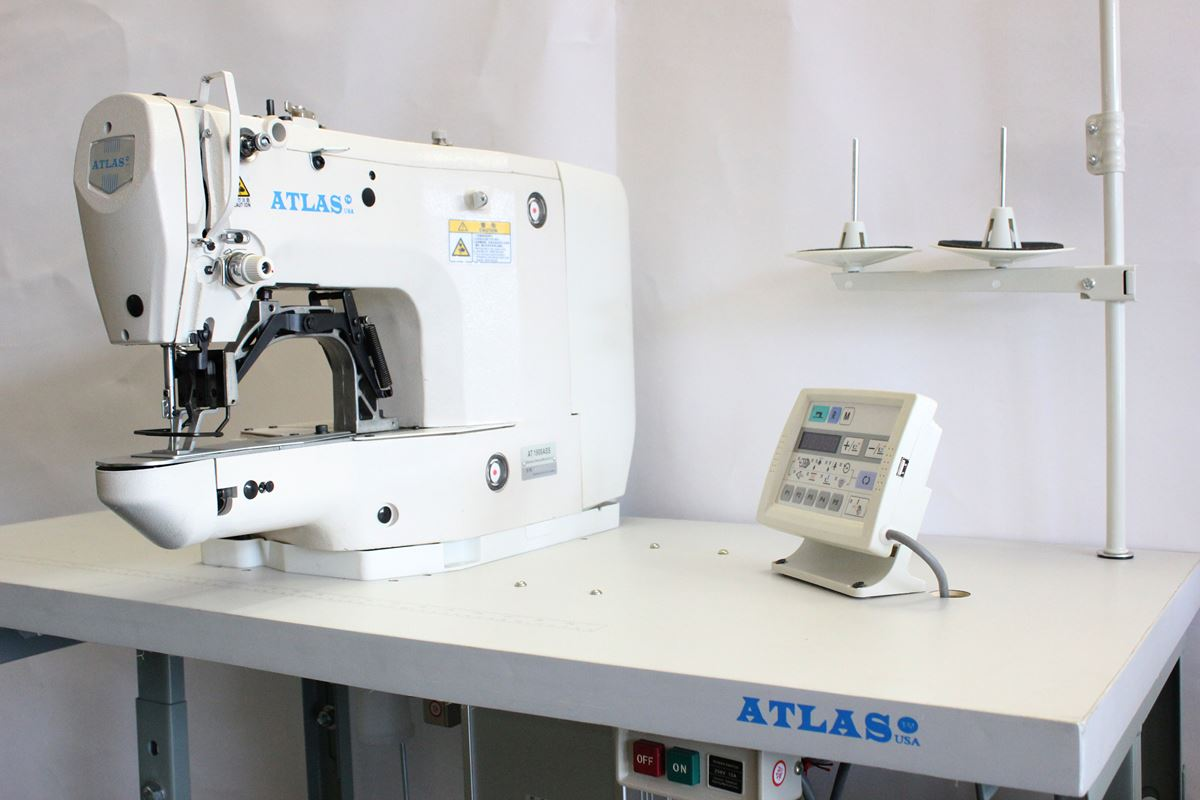 Automatic Bartacking Industrial Machine Direct Drive And