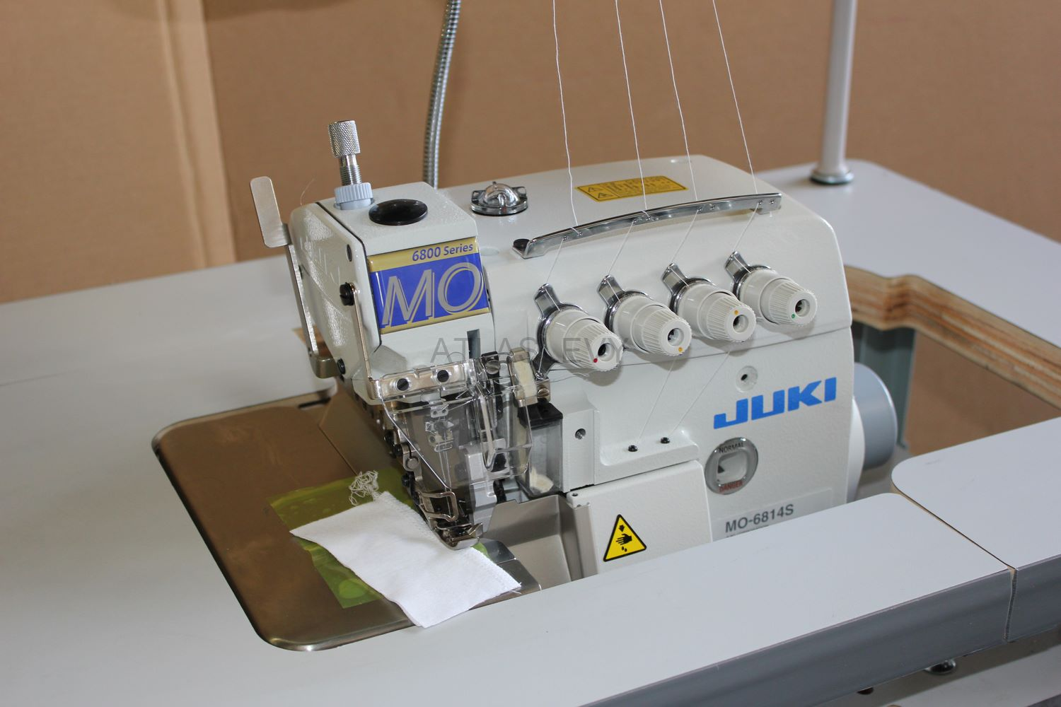 Juki mo 6814s high speed 4 thread overlock machine w for High speed servo motor