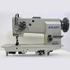 Double Needle AtlasUSA Walking foot  Sewing Machine for heavy duty work AtlasUSA AT20618-2