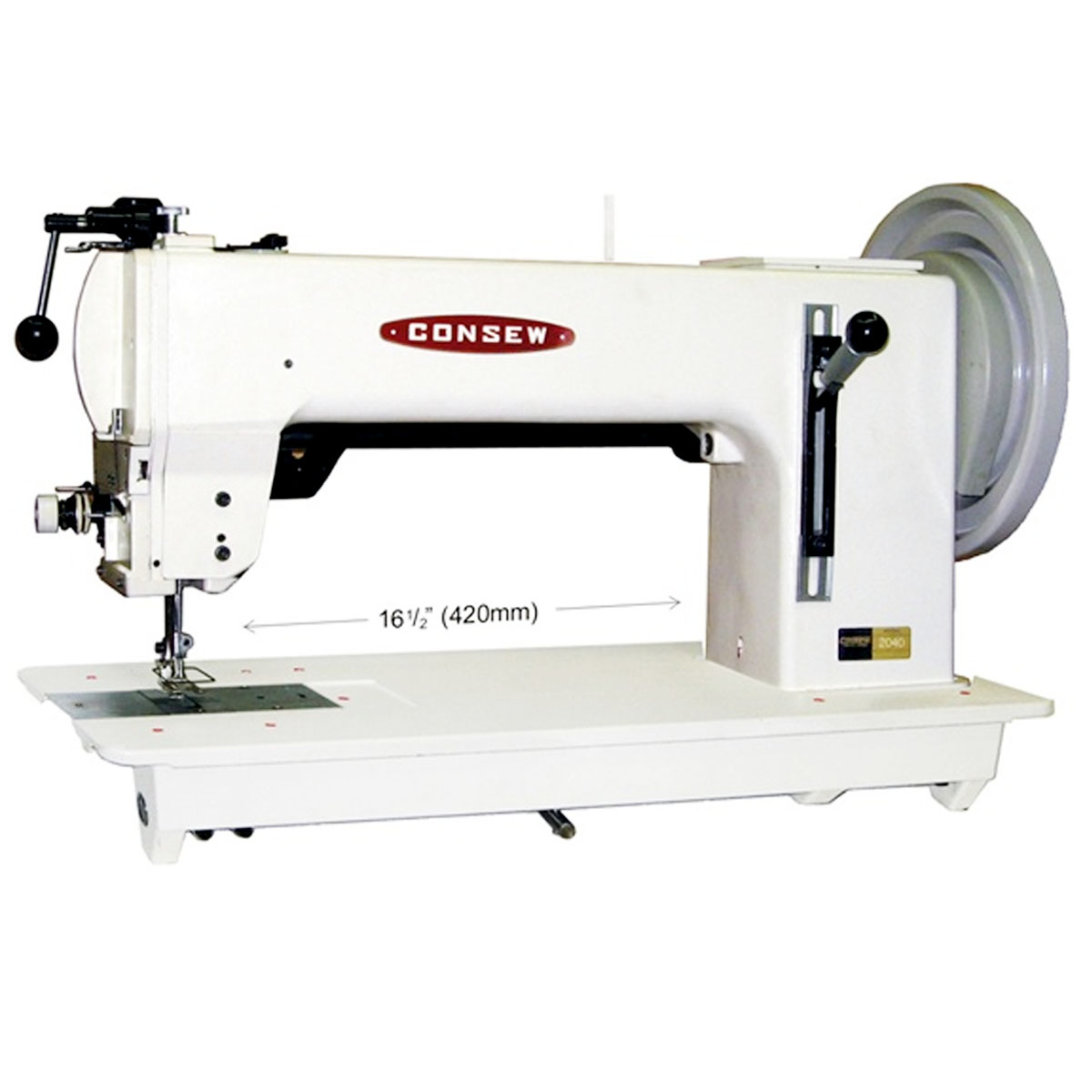 Long Arm 16 1 2 Quot Single Needle Heavy Duty Sewing Machine