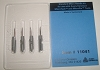 Dennison 11041 Microtach Needles / Pack of 4