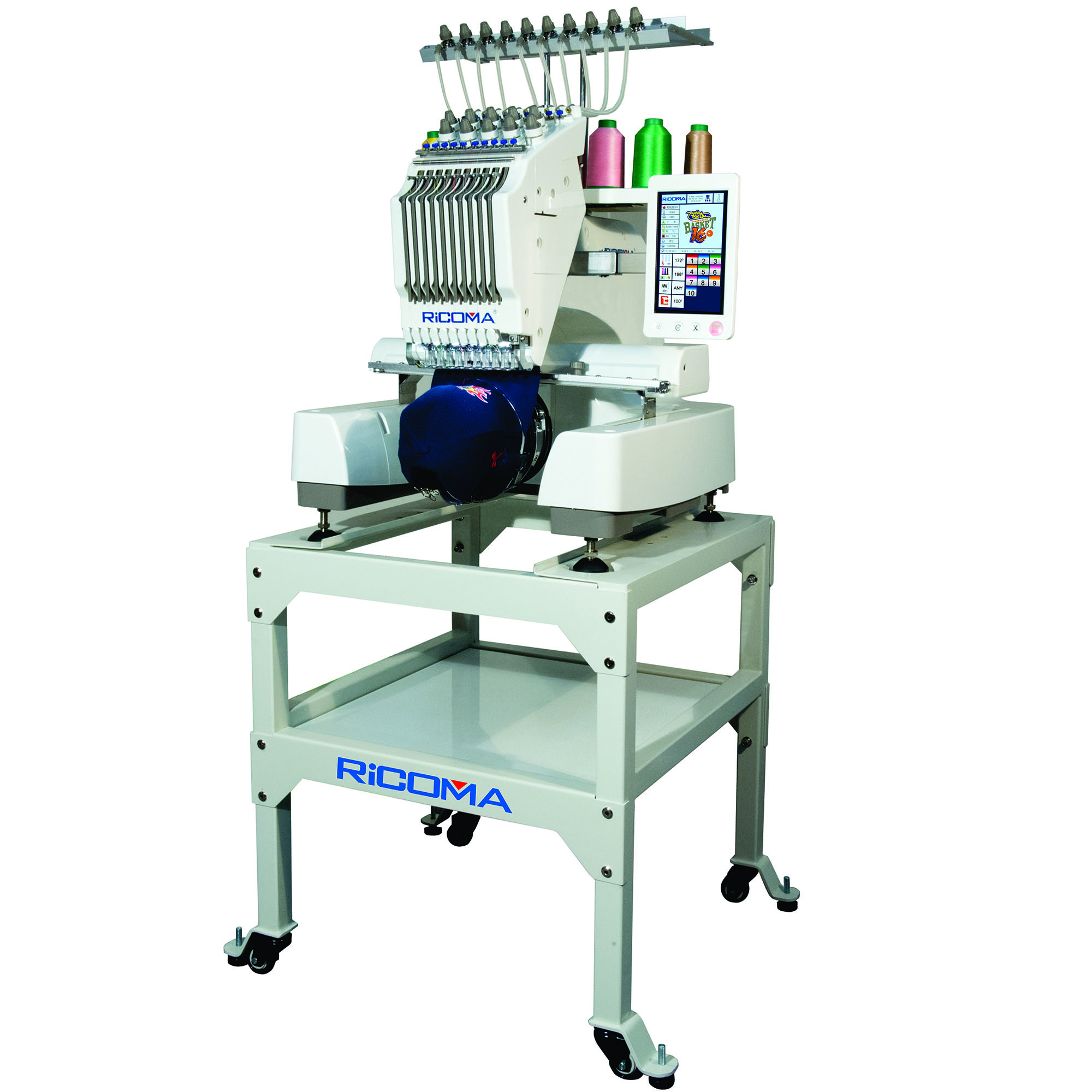 Ricoma Embroidery Machine with HD touch Screen