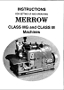The Merrow class MG & M manual