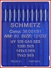 Schmetz 128GAS coverstitch needles