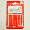 SERGER CHROMIUM NEEDLES  Style 2022 For Singer Overlock Sewing Machines