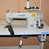 Heavy Duty top and bottom feed lockstitch sewing machine AtlasUSA AT0338