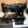 Singer 107w50  ZigZag sewing machine Tag # 4820