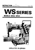 Wilcox & Gibbs WS series manual