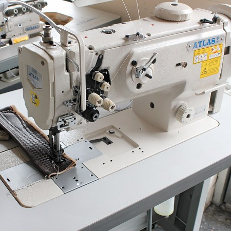 Double Needle Compund Feed Lockstitch machine AtlasUSA AT1560
