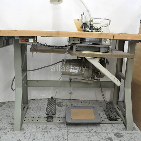 Overlock Brother MA4-551 5 Thread w/ Shirring machine  Tag # 3356