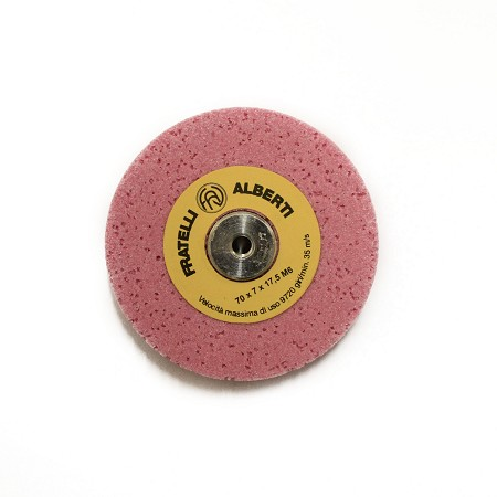 Grinding wheel with bushing for skiving machines