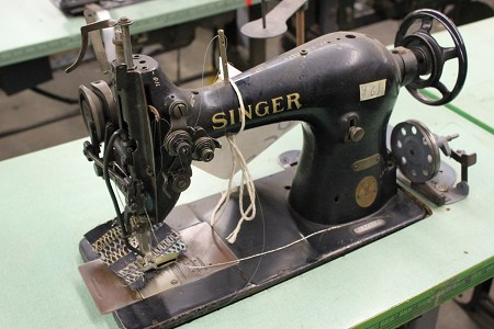Singer 44-62 Machine Tag # 4728