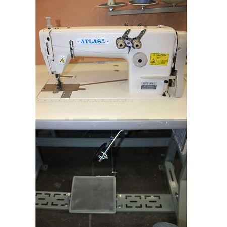 High Speed  Double Needle Chainstitch Sewing Machine AtlasUSA AT20058