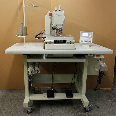 Automatic Eyelet button hole machine AtlasUSA AT9820-01