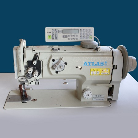 Automatic Walking foot Sewing  Machine W/ thread Trimmer AtlasUSA AT1541-7