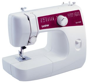 BROTHER VX-1435 Easy-To-Use Lightweight Basic Sewing and Mending