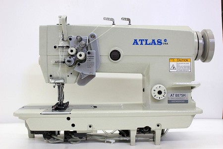 High Speed double-needle lockstitch sewing machine Atlas USA AT 8875H