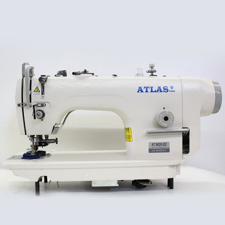 Automatic Direct Drive Single needle Industrial Machine AtlasUSA AT9820-D2