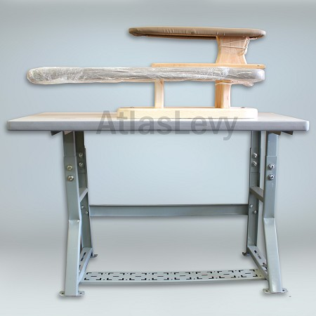 Industrial Iron Board with  Table and sleeve Iron Board