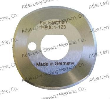 R80C1-123 ROUND BLADE FOR EASTMAN CUTTING MACHINES (MADE IN GERMANY)