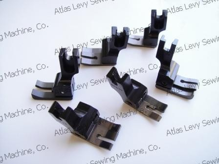 Set of Compensating Presser Feet (Teflon)