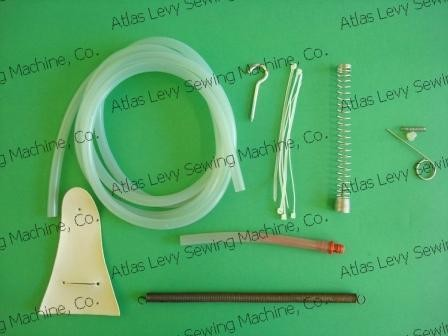 Water Hose, Springs, Filter and extras for gravity irons
