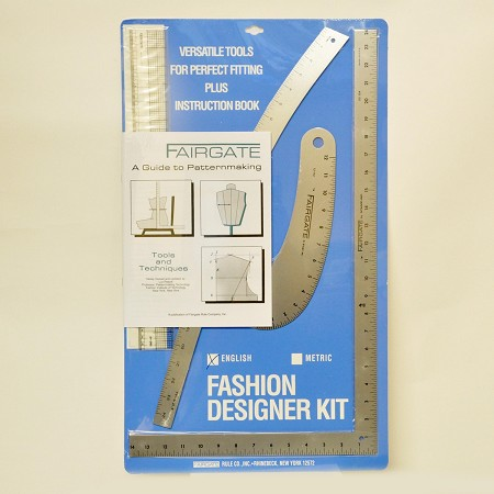 FAIRGATE 15-102 FASHION DESIGNER'S KIT (Set of Rulers)