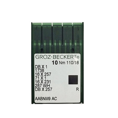 Groz-Beckert Needles for Single Neeedle 16X257  DBX1 DBX257