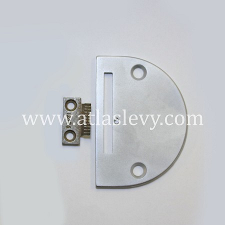 Set of Plate and Feeder Part Numbers 12438 + 12436